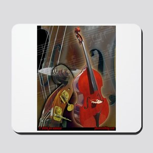 Upright Bass Art 1 Mousepad